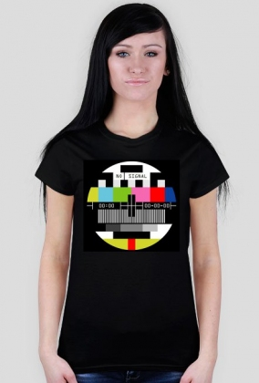 Obraz kontrolny - No signal koszulka damska