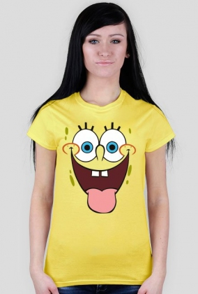 Spongebob koszulka damska