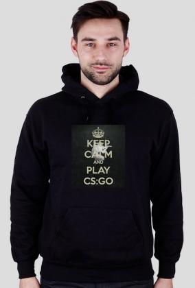 Bluza Męska ''KEEP CALM and PLAY CS:GO''