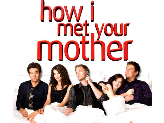 How I Met Your Mother in bed
