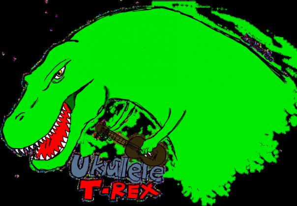 Torba ukulele t-rex