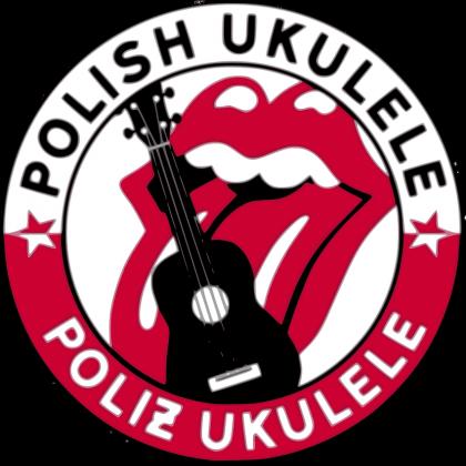 Polish Ukulele - OFFICIAL (męska bluza z kapturem - rozpinana)