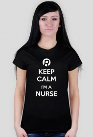 Keep calm I'm a nurse White