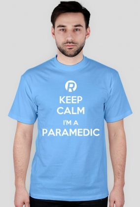 Keep calm I'm a paramedic White