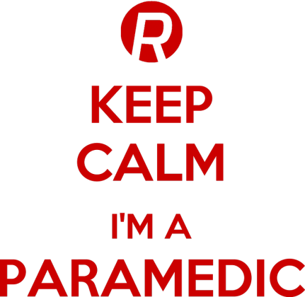 Keep calm I'm a paramedic Red