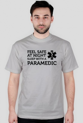 Feel safe at night sleep with a paramedic Black