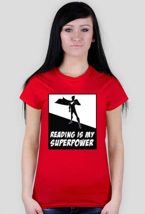 Reading is my superpower