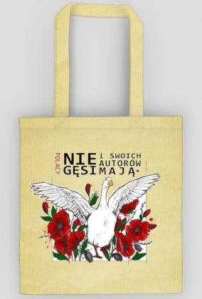 f221eb92333bd Torba z grafiką akcji - eco torby w Polacy nie gęsi i swoich autorów ...