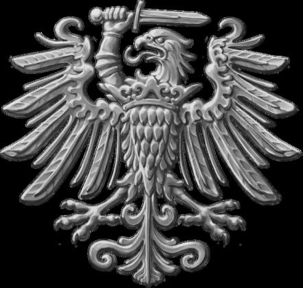 Prusy Królewskie Orzeł (srebrny) koszulka