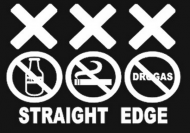the philosophy behind straight edge life and its benefits Straight-edge might be an excellent starting point to question whatever you need to question in life but for that to happen, people into it have to leave room for thought, otherwise things might just implode, and maybe that was what happened.