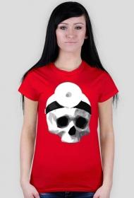 Ona czaszka koszulka