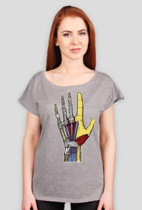 Ona Dłoń koszulka łodka