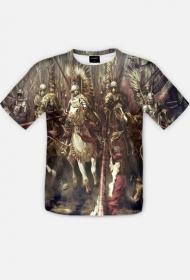 Koszulka full print husaria 2 dla Niego