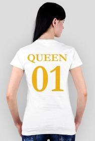 Koszulka dla par QUEEN 01