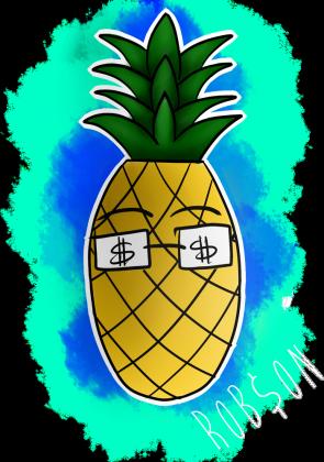 Ananas - Czarna