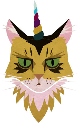 UNICORN CAT BLUZA