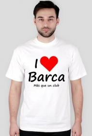 Koszulka I love Barca Kocham Barce
