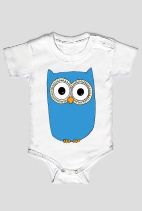 Sowa Wielkooka - body niemowlęce