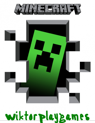 Minecraft Creeper by Wiktor PlayGames - koszulka dla chłopaków