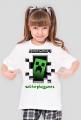 Minecraft Creeper by Wiktor PlayGames - koszulka dla dziewczyn