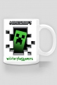 Minecraft Creeper by Wiktor PlayGames - kubek
