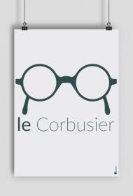 """Plakat """"le Corbusier"""""""