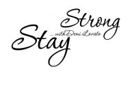 Kubek Demi Lovato Stay Strong