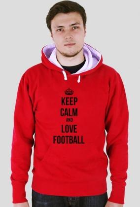 KEEP CALM AND LOVE FOOTBALL