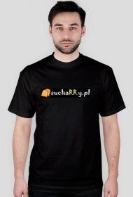 Koszulka czarna sucharry.pl