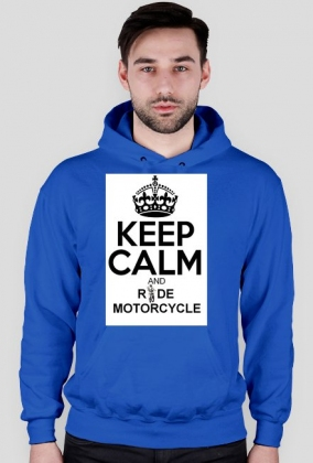 Keep Calm And Ride Motorcycle