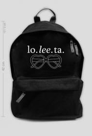 "Plecak ""lo. lee. ta."" 42cm"