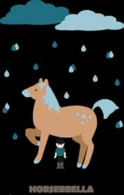 Horsebrella dla chłopca