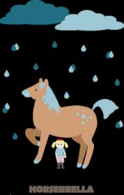 Horsebrella dla dziewczynki