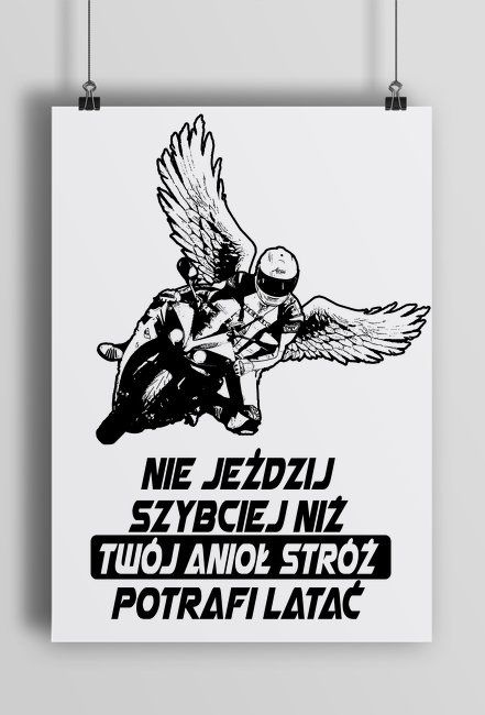 Plakat motocyklowy v1