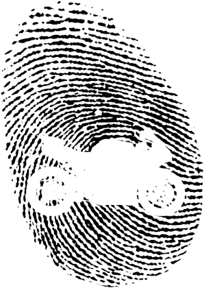 Fingerprint motocykl