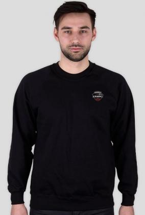 Bluza Czarni z logo na plecach