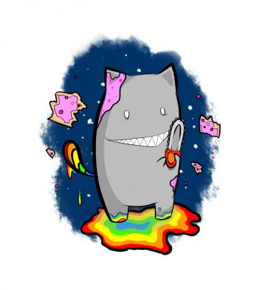 Psycho Nyan - Rabbitroops