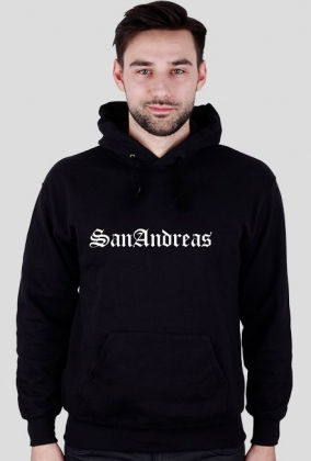 San Andreas - Bluza Męska z kapturem (GTA:SA)