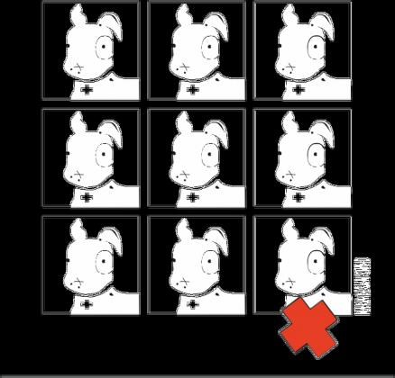 TShirt Pies Max 3x3 B/W (K) Czarna bez rękawów