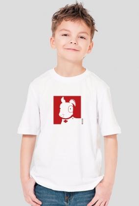 TShirt Pies Max (Chłopiec) Biała