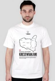 Wszyscy jesteśmy Kresowiakami (Męska)/Biała
