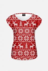 koszulka świąteczna (damska)