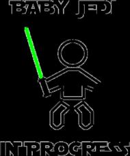 Baby Jedi - koszulka damska