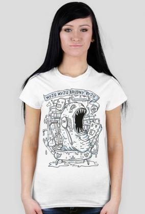 Brudozaur koszulka
