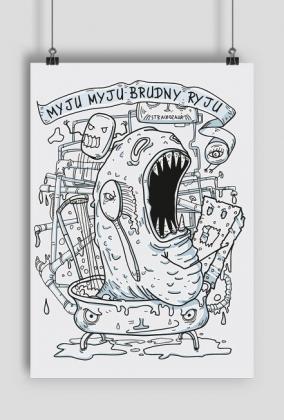Brudozaur plakat