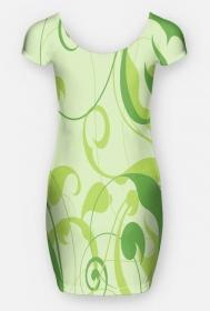 """tunika """" kobieta w zieleni"""""""