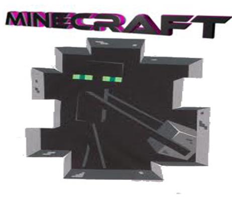 Koszulka Enderman Minecraft (Damska)