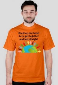 """Koszulka """"One love"""""""