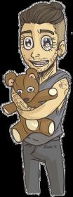 Kubek Zayn Teddy Bear