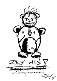 Patryk Kumór - ZŁY MIŚ - T-Shirt V